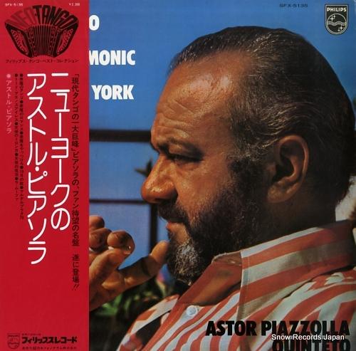 PIAZZOLLA, ASTOR concierto en el philharmonic hall de nueva york