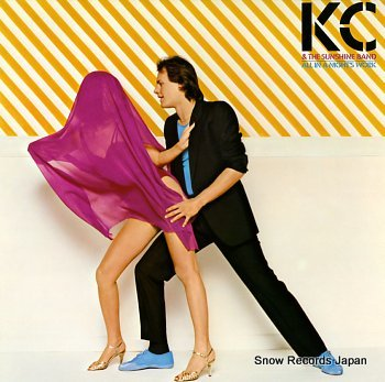K.C. AND THE SUNSHINE BAND all in a night's work