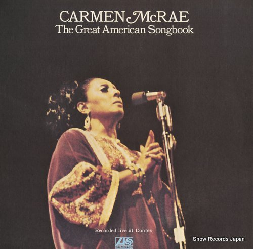 MCRAE, CARMEN great american songbook, the