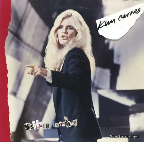 CARNES, KIM mistaken identity