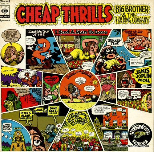 JOPLIN, JANIS cheap thrills