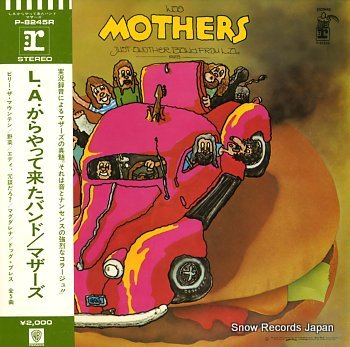 ZAPPA, FRANK & THE MOTHERS just another band from l.a.