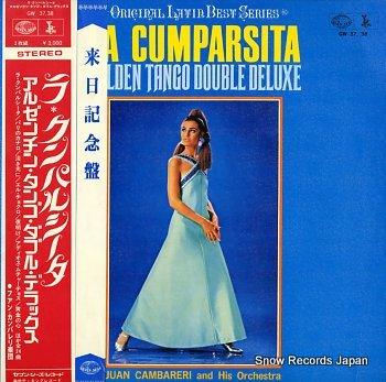 CAMBARERI, JUAN golden tango double deluxe