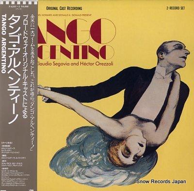 ORIGINAL CAST RECORDING tango argentino