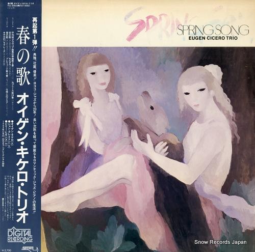 CICERO, EUGEN spring song