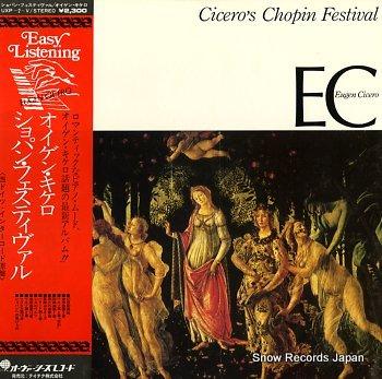 CICERO, EUGEN cicero's chopin festival