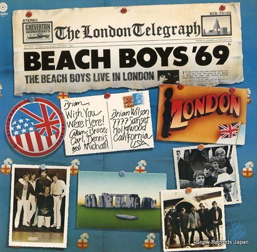BEACH BOYS, THE 69 live in london