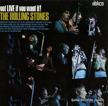 ROLLING STONES, THE got live if you want it!