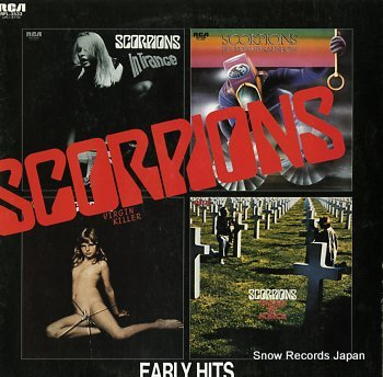 SCORPIONS early hits
