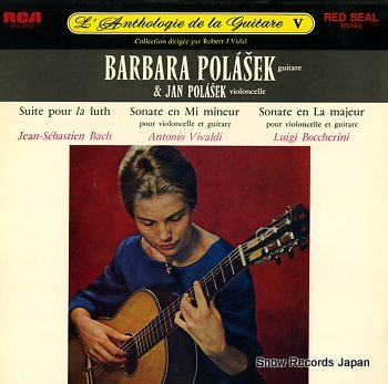 POLASEK, BARBARA l'anthologie de la guiter v
