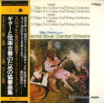 WARCHAL, BOHDAN vivald; guiter concertos