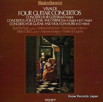 SCHEIT, KARL vivaldi; four guitar concertos