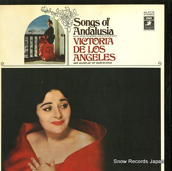 DE LOS ANGELES, VICTORIA songs of andalusia