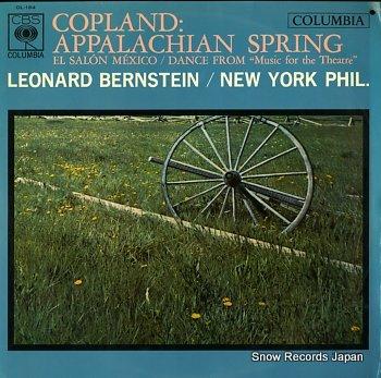 BERNSTEIN, LEONARD copland: appalachian spring