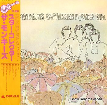 MONKEES, THE pisces, aquarius, capricorn & jones ltd.