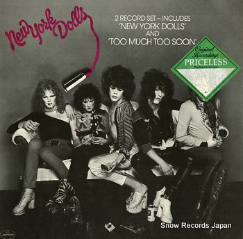 NEW YORK DOLLS new york dolls / too much too soon