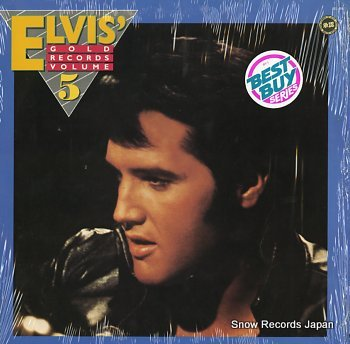 PRESLEY, ELVIS elvis' gold records volume 5