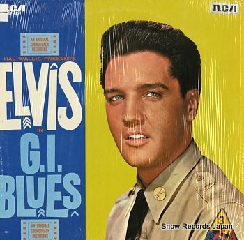 PRESLEY, ELVIS g.i.blues