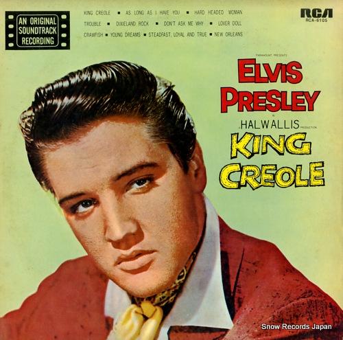 PRESLEY, ELVIS king creole