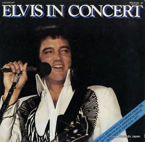 PRESLEY, ELVIS elvis in concert