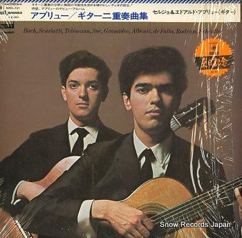 SERGIO AND EDUARDO ABREU guitars of, the