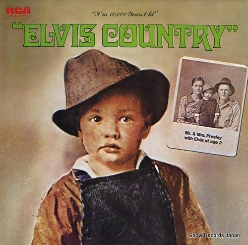 PRESLEY, ELVIS elvis country