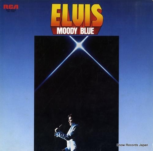 PRESLEY, ELVIS moody blue