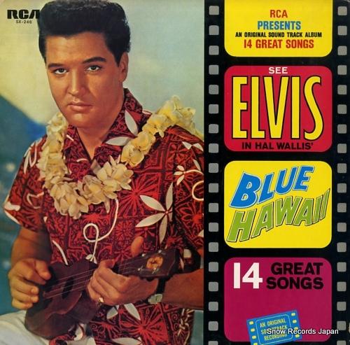 PRESLEY, ELVIS blue hawaii