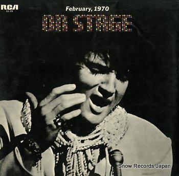 PRESLEY, ELVIS on stage february 1970