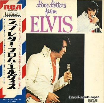 PRESLEY, ELVIS love letters from elvis