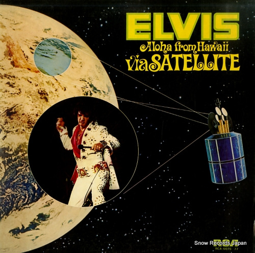 PRESLEY, ELVIS aloha from hawaii via satellite