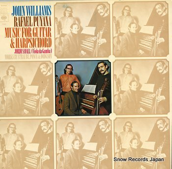 WILLIAMS, JOHN / RAFAEL PUYANA music for guitar and harpsichord