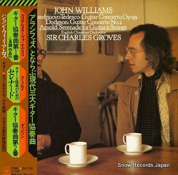 WILLIAMS, JOHN / GROVES castelnuovo -tedesco