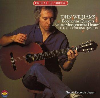 WILLIAMS, JOHN boccherini; guitar quintets nos. 5&6
