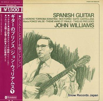 WILLIAMS, JOHN spanish guitar
