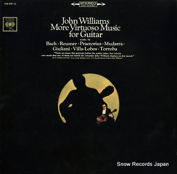 WILLIAMS, JOHN more virtuoso music for guitar