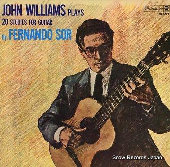WILLIAMS, JOHN sol, fernando; 20 studies for guitar