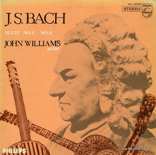 WILLIAMS, JOHN j.s.bach; suite no.1, no.3