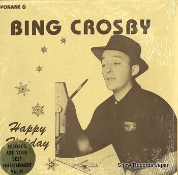 CROSBY, BING happy holiday
