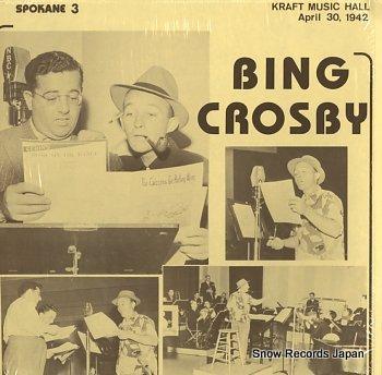 CROSBY, BING kraft music hall april 30, 1942