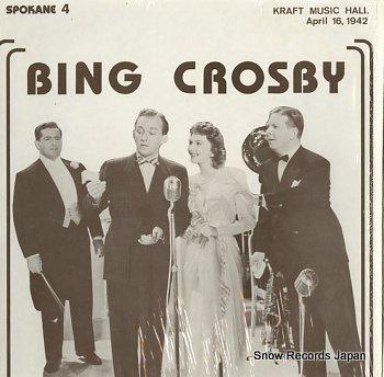 CROSBY, BING kraft music hall april 16, 1942