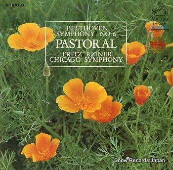 REINER, FRITZ beethoven; symphony no.6 in f , op.68