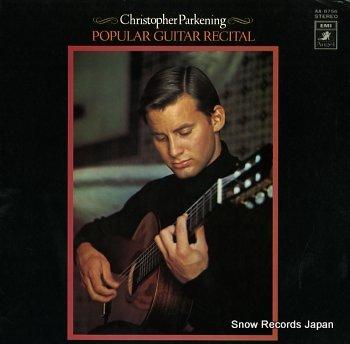 PARKENING, CHRISTOPHER popular guitar recital