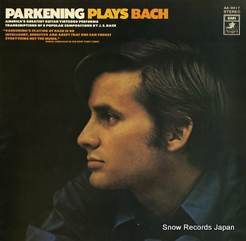 PARKENING, CHRISTOPHER parkening plays bach