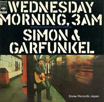 SIMON AND GARFUNKE wednesday morning, 3 a.m.