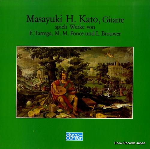 HIRAYAMA-KATO, MASAYUKI spielt werke von f.tarrega