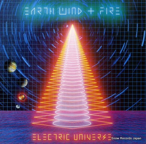 EARTH, WIND & FIRE electric universe