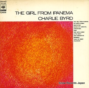 BYRD, CHARLIE girl from ipanema, the