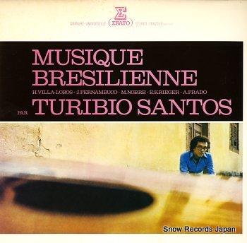 SANTOS, TURIBIO musique bresilienne