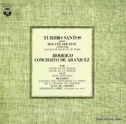 SANTOS, TURIBIO rodrigo; concerto de aranjuez and others turibio